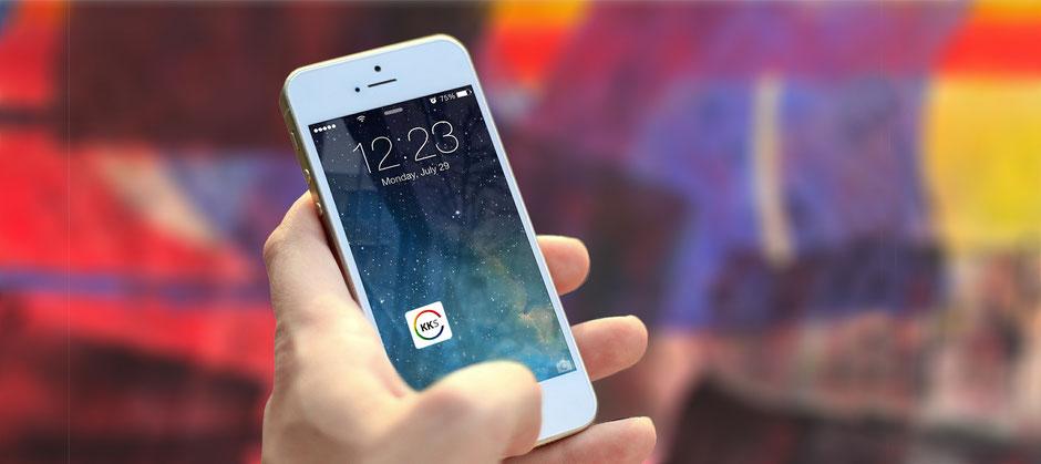 Kunstkreis Siegerland Touch Icon auf Smartphone