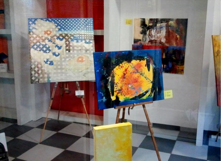 Workshop Malerei des Kunstkreis Siegerland in Siegen, Poststraße, 2013