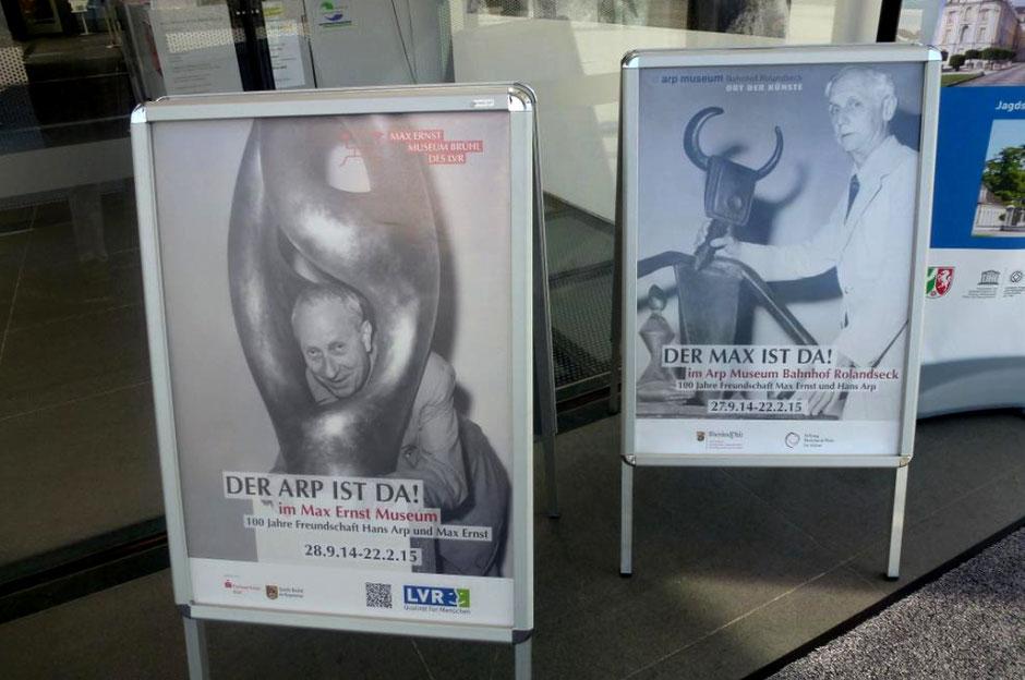 Max Ernst und Hans Arp, Max Ernst Museum Brühl, 2015