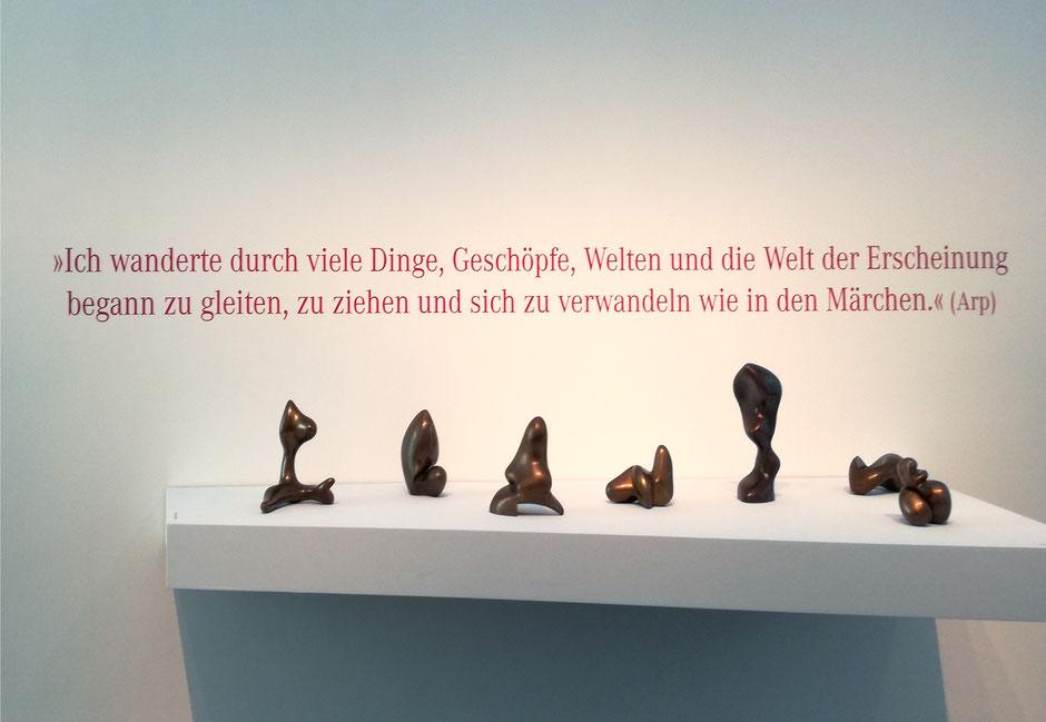Hans Arp, Ausstellung im Bahnhof Rolandseck, arp museum