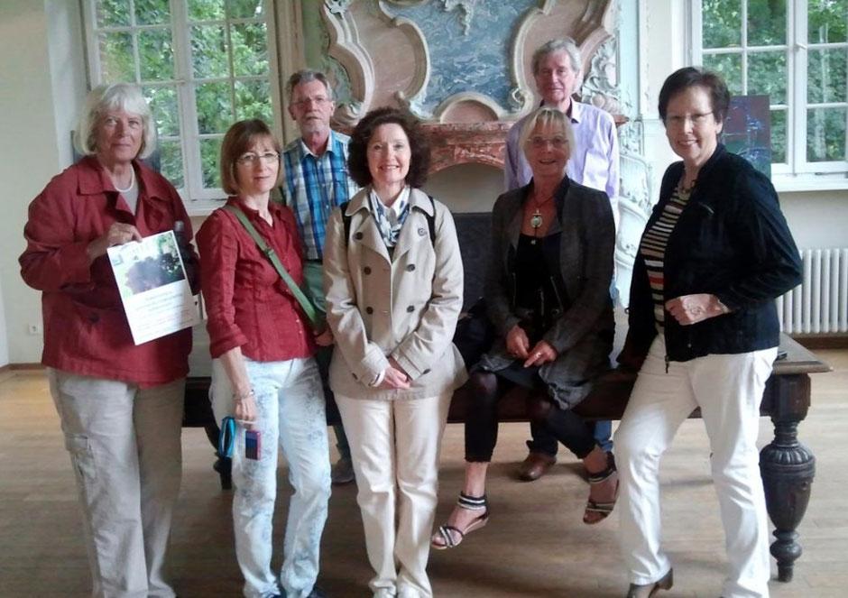 Mitglieder des Kunstkreis Siegerland zu Besuch der Sommerakademie Haus Hohenbusch, Erkelenz 2013