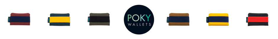 Kleines kompaktes wasserabweisendes Portemonnaie / Geldbeutel aus gewachster Baumwolle für EC-Karten, Scheine und Kleingeld.