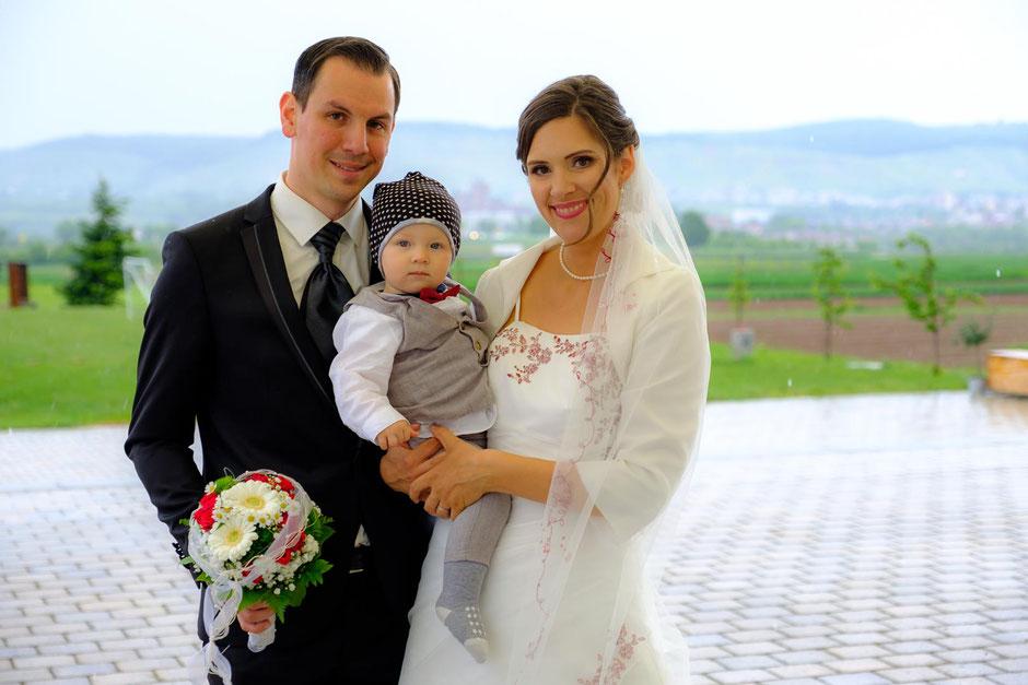 Hochzeit und Taufe Kernen