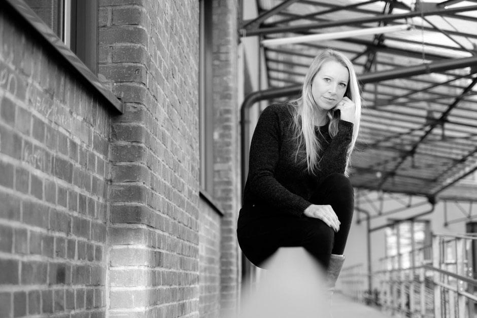 Businessportraits mit Schauspielerin Bianca Spiegel in Stuttgart