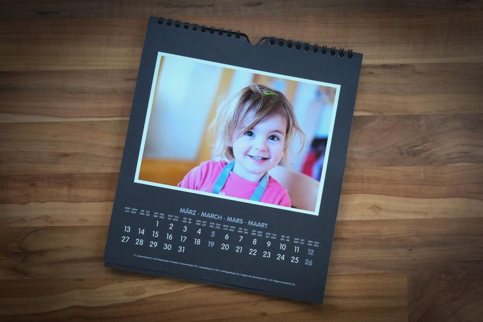 Kinderbilder für Kalender