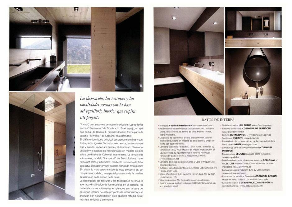 Revista Cocinas y Baños, Foto Sara Riera