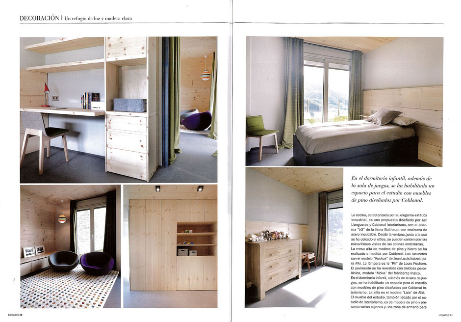 Revista Hogares, Fotos Sara Riera