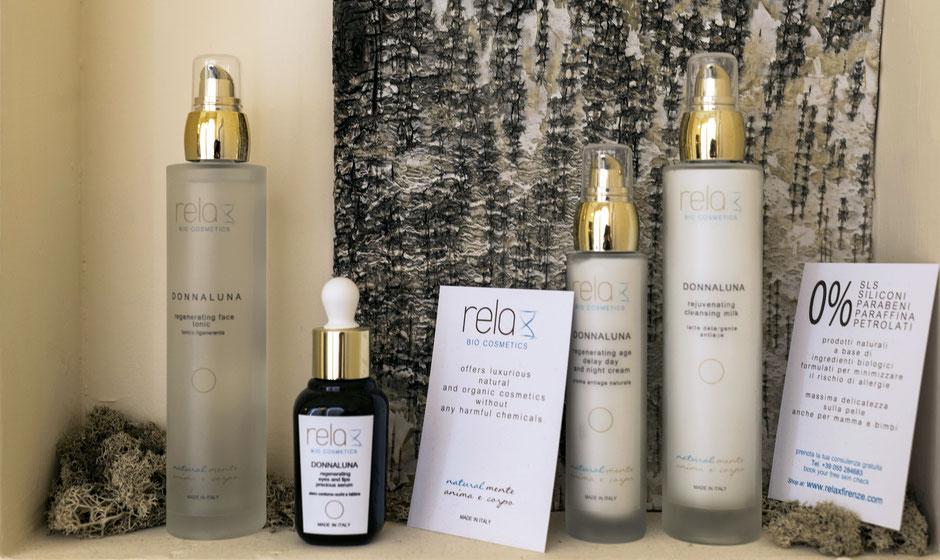 I cosmetici naturali della linea Relax Bio Cosmetics
