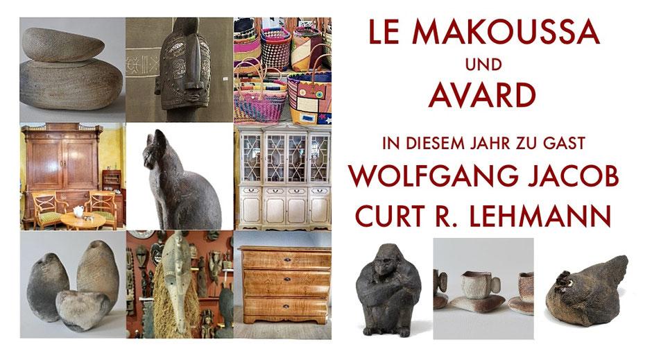 Einladung von AVARD, Le Makoussa und Ute Dutzmann