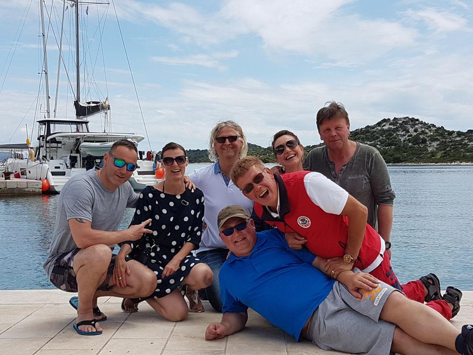 Katamarantraining, Hafentraining, Lagoon 42, Katamaran, Skippertraining, Hafenmanöver Training, Segelurlaub, Familienurlaub, Segeltörn