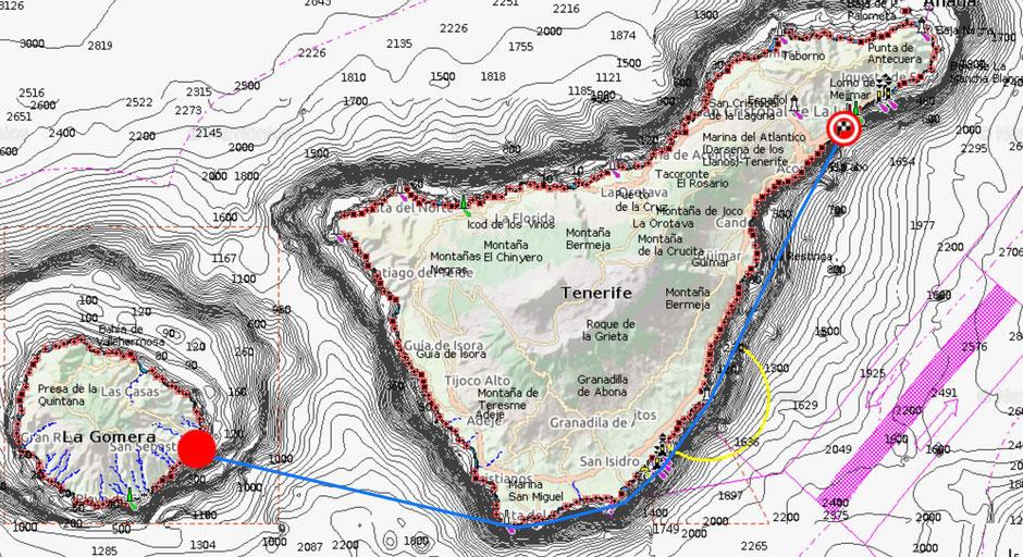 La Gomera, Hochseesegeln, Charter, Teneriffa, Katamaran