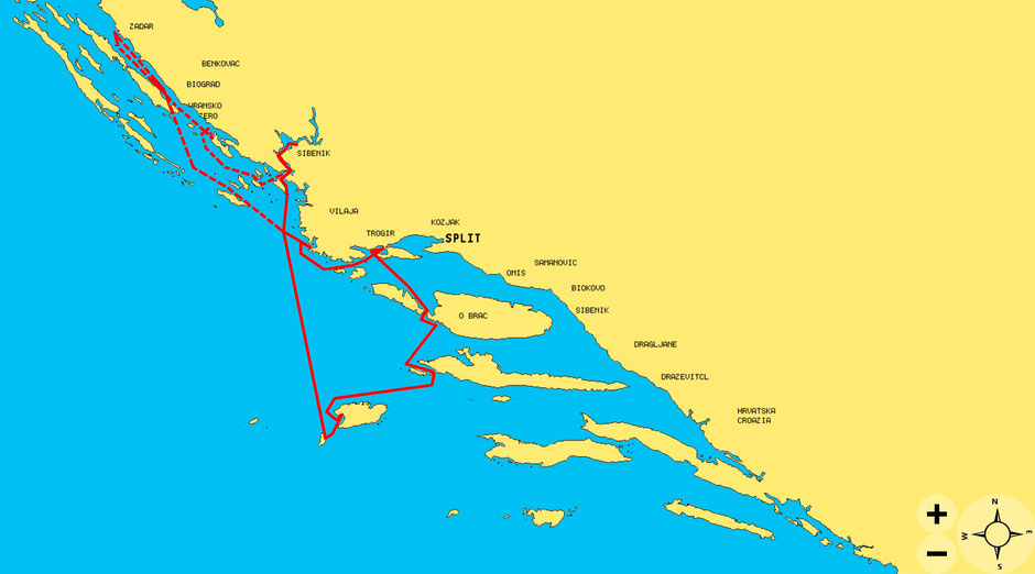 Charter, Urlaub, Katamaran, Trogir, Lagoon 42