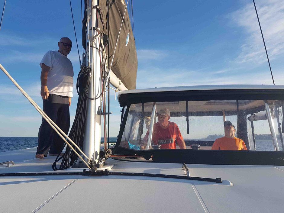 Blog Gibraltar, Alicante Lagoon 42, Katamaran, Hochseesegelen, Mitsegeln, Überführung, Blauwassersegeln