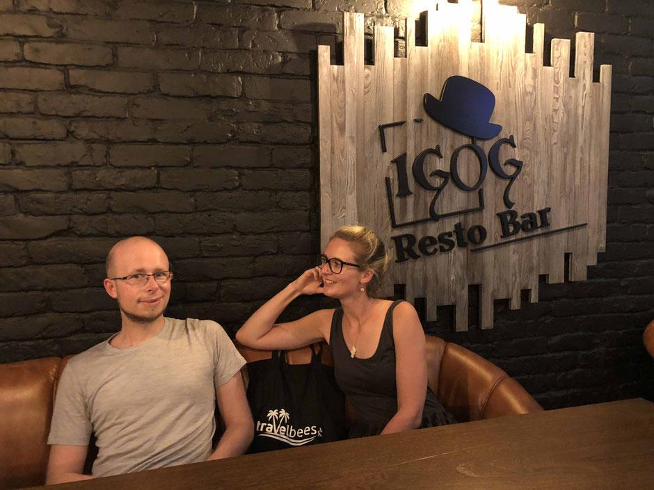 IGOG - Restobar - Almaty - travelbees.de