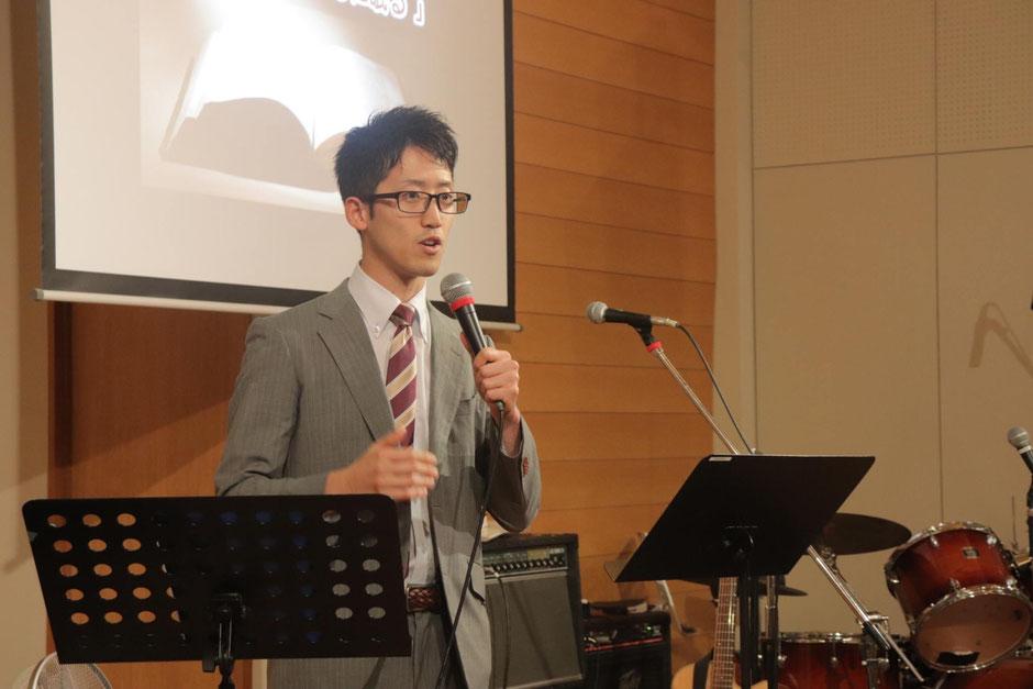 中山満(中央聖書神学校)神学生