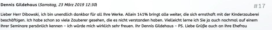 141% Review Marc Dibowski. Seminarpaket KInderzauberei.
