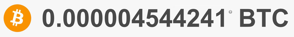 Mein aktueller Bitcoin-Stand - Mal sehen, wo wir in einem Monat sind?!* - 12.08.2018