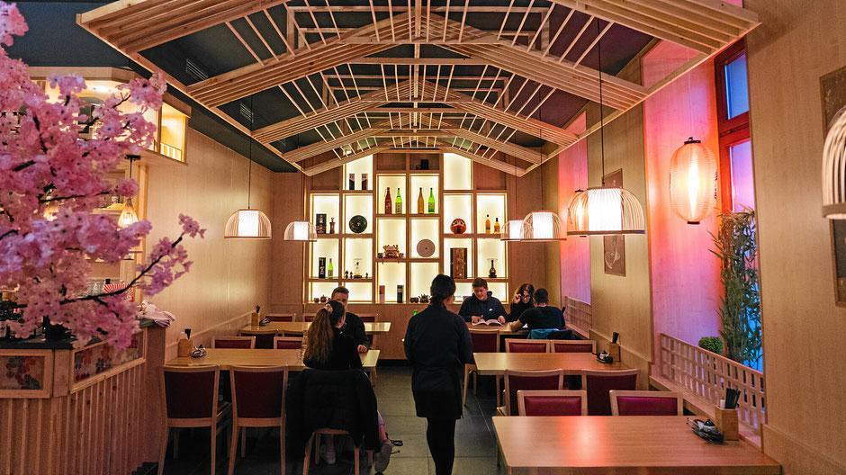 Sushibar und asiatisches Restaurant in Konstanz