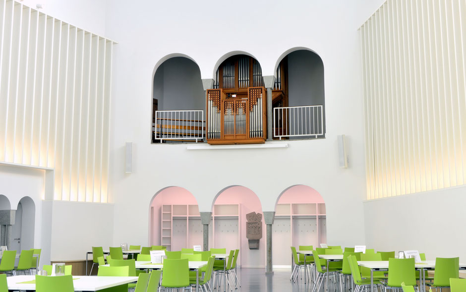 © Gabriel Isenberg, 2021  (nach Abschluss der Umbauarbeiten wird die Orgel vermutlich im Frühjahr/Sommer 2021 überholt)