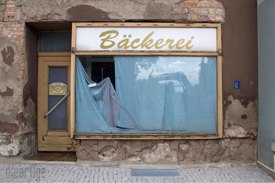 damals eine Bäckerei - heute ein Mahnmal