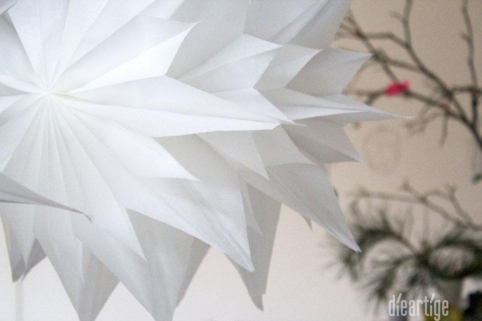 dieartigeBLOG - Papier-Sterne, DIY, schnelles Geschenk