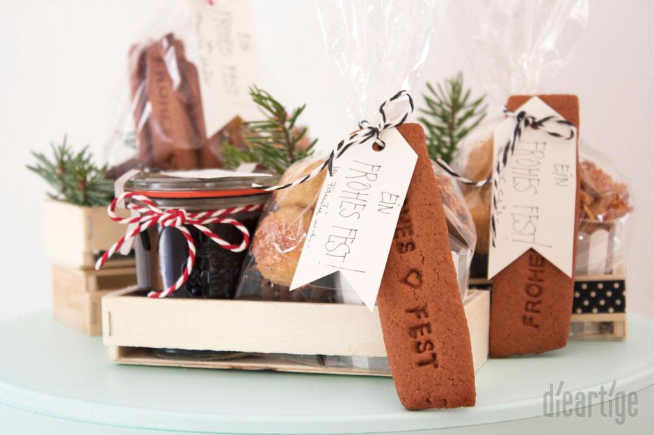 dieartigeBLOG - Süsse Weihnachtsgrüße für Freunde