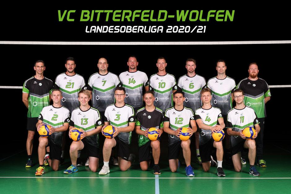 2. Herren Volleyball Landesoberliga des VC Bitterfeld-Wolfen