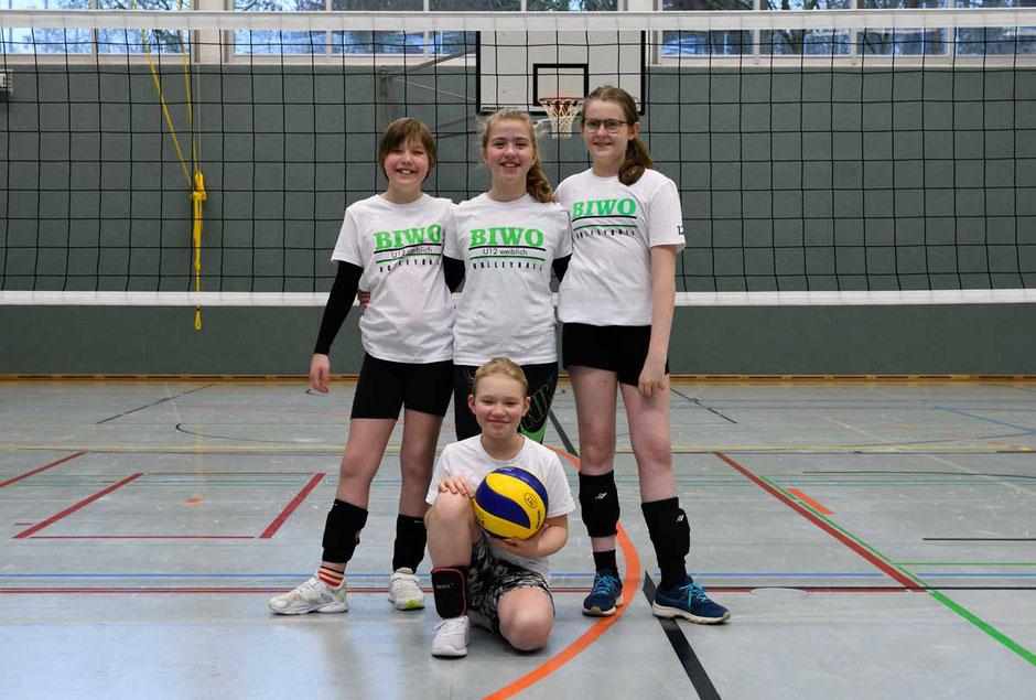 Volleyball Team U12 weiblich des VC Bitterfeld-Wolfen