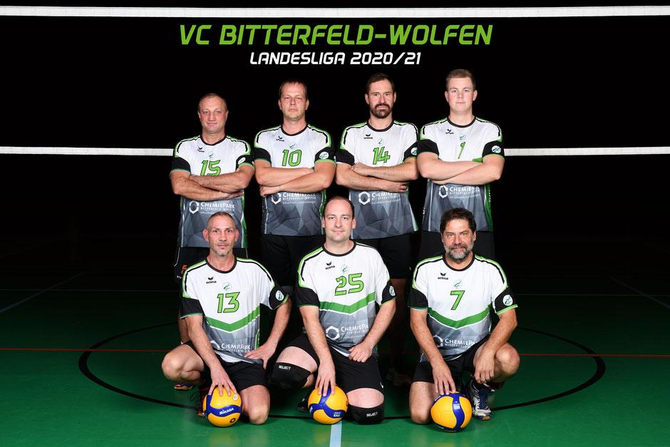 3. Herren des VC Bitterefeld-Wolfen Landesliga 2020 2021
