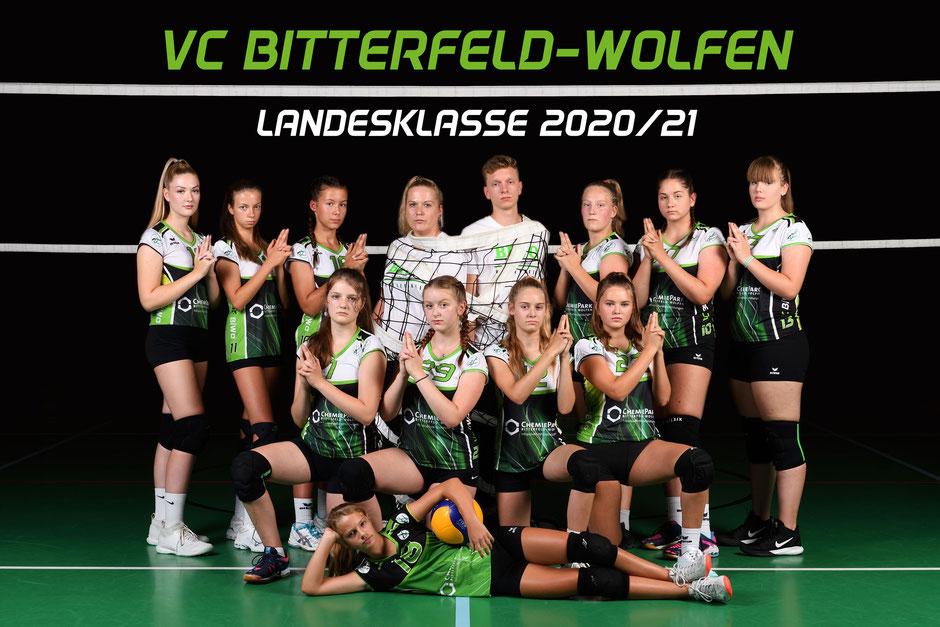 Landesklasse 4. Damen VC Bitterfeld-Wolfen