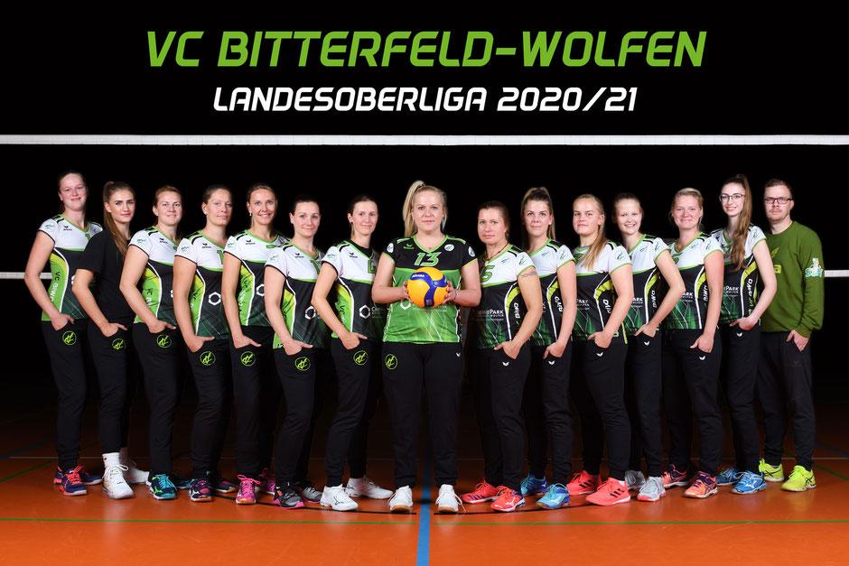 2. Damen Volleyball Landesoberliga des VC Bitterfeld-Wolfen