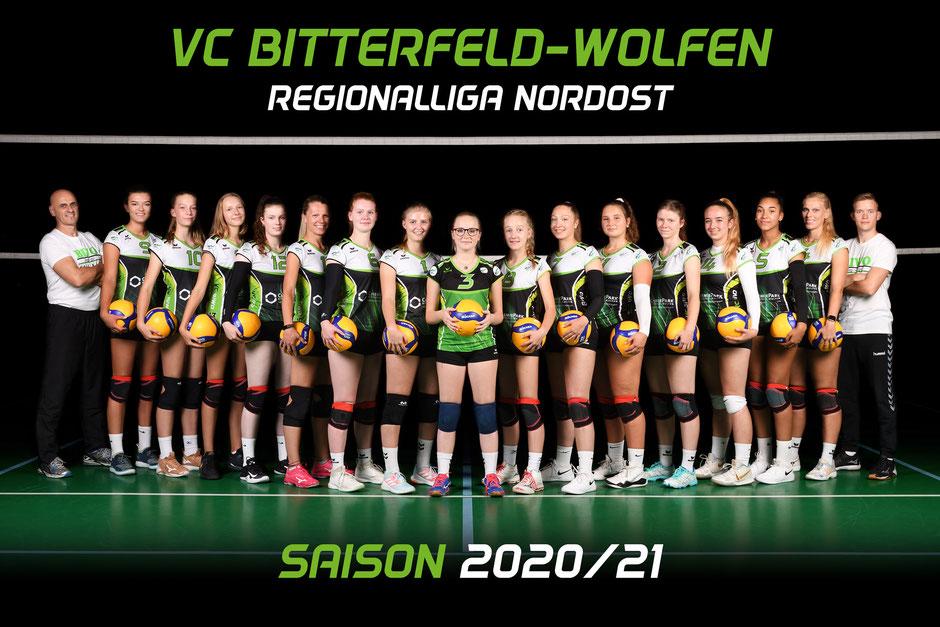 1. Damen Volleyball Tegionalliga des VC Bitterfeld-Wolfen