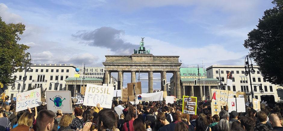 Klimademo in Berlin/Orlindo Frick