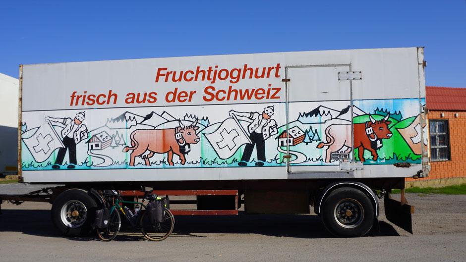 Mogelpackung: Nur der Hänger ist aus der Schweiz