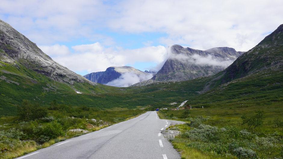 Beeindruckende alpine Landschaft