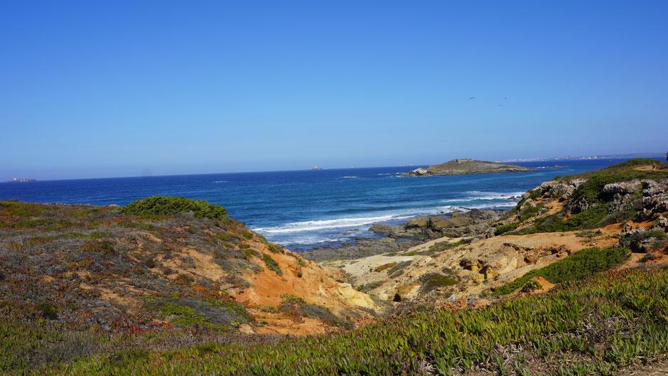 Farbenpracht an der Küste ...