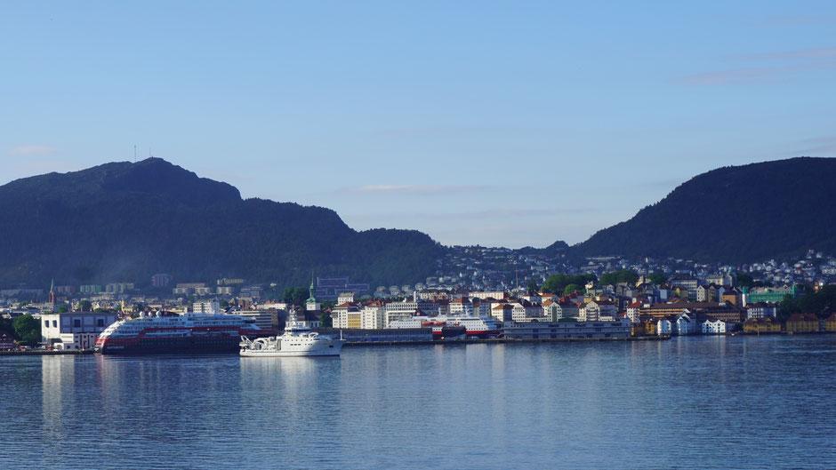 Skyline of Bergen