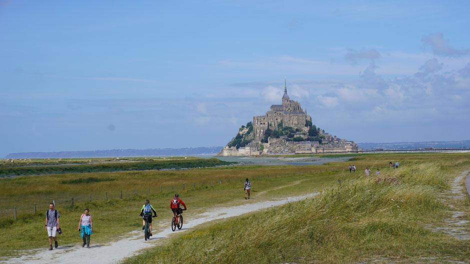 Mont Saint Michel - Touristenmagnet nicht des Klosters wegen