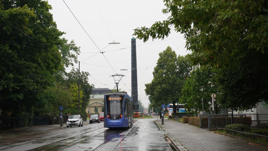 Obelisk am Karolinenplatz - Denkmal für die Gefallenen bayrischen Soldaten bei Napoleons Russlandfeldzug