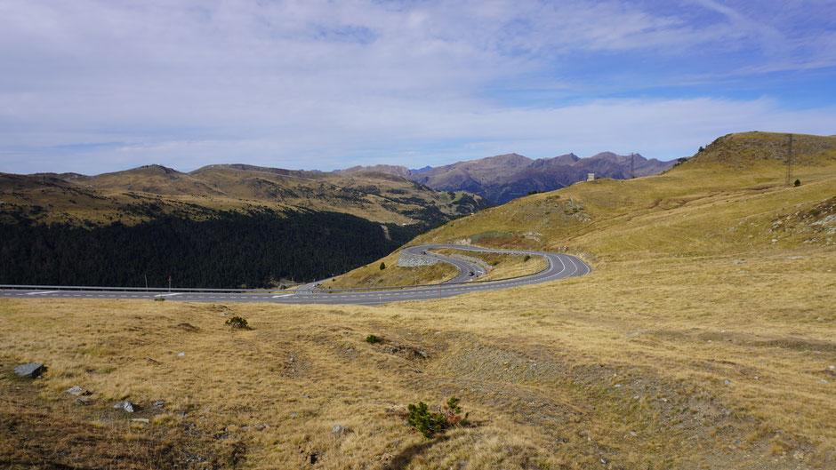 Ein letzter Blick zurück auf Andorra ...