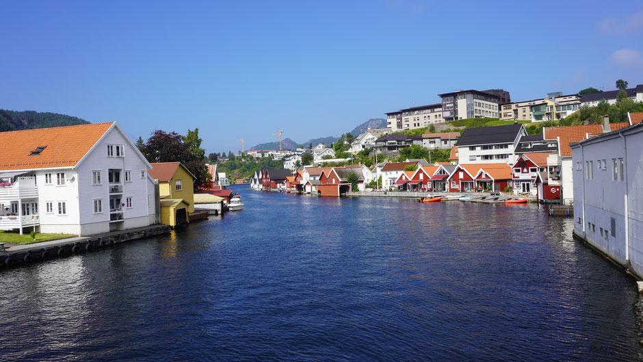 Flekkefjord - da ist etwas mehr los