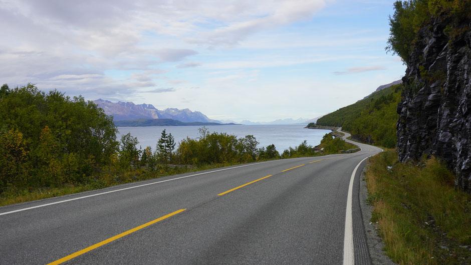 Der Lyngenfjord, breit und lang ...