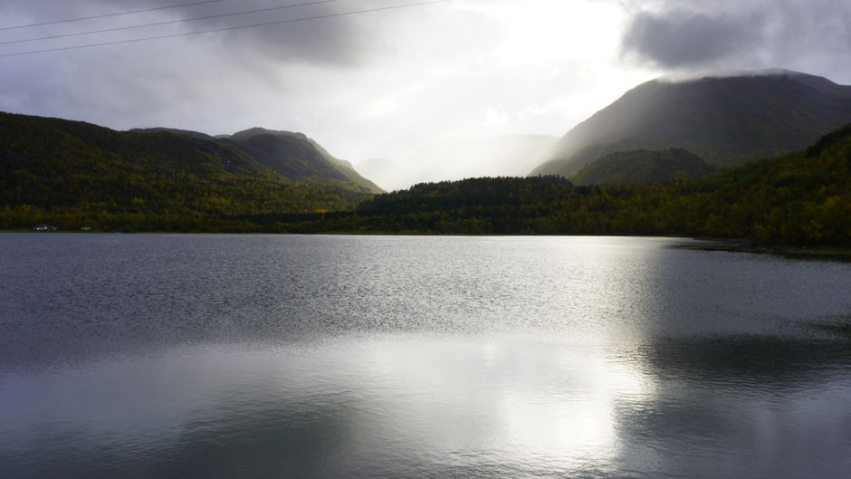 Wasser marsch, heißt es in dem Tal da vorne ...