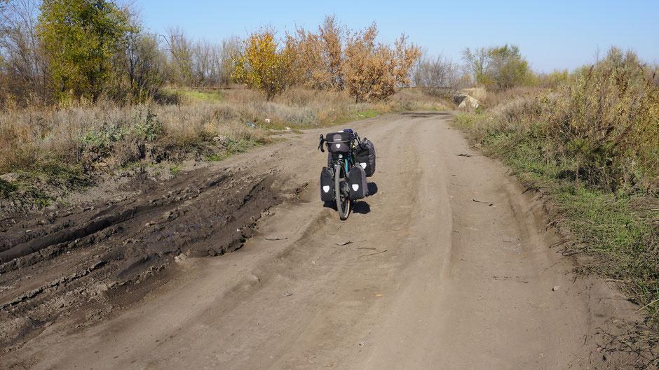 Für Allradfahrzeuge ideal, für Reiseradler etwas fordernd
