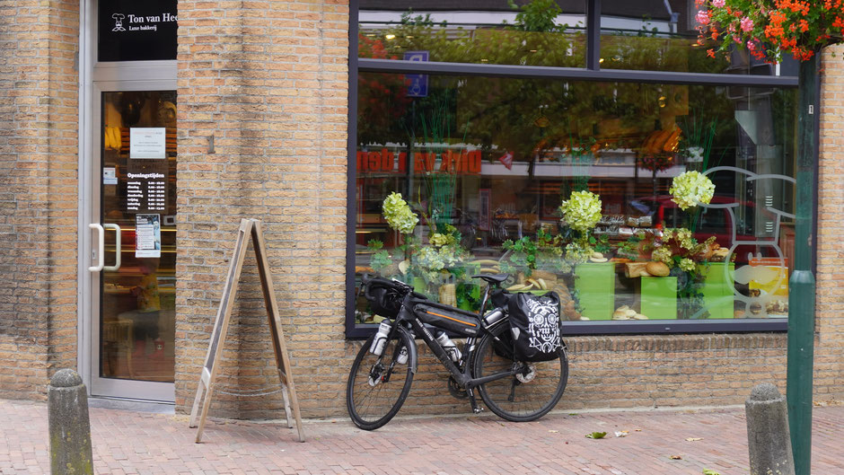 Parkplatz vor Bäckerei