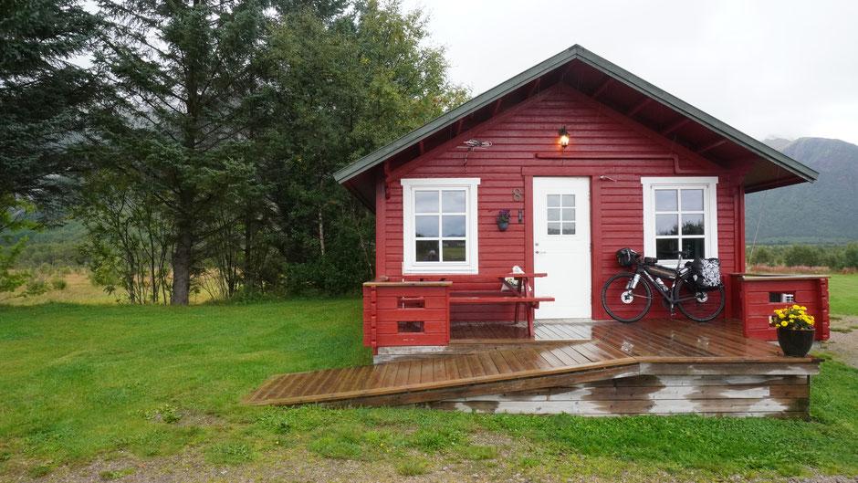 Luxuskabine am Campingplatz