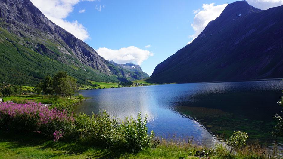 Zwischendurch mal See statt Fjord