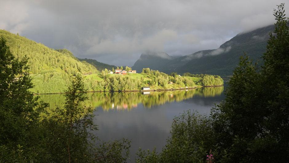 Im norwegischen Rampenlicht