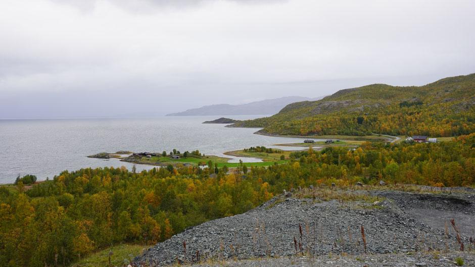 Der Langfjorden könnte heute auch Regenfjorden heißen