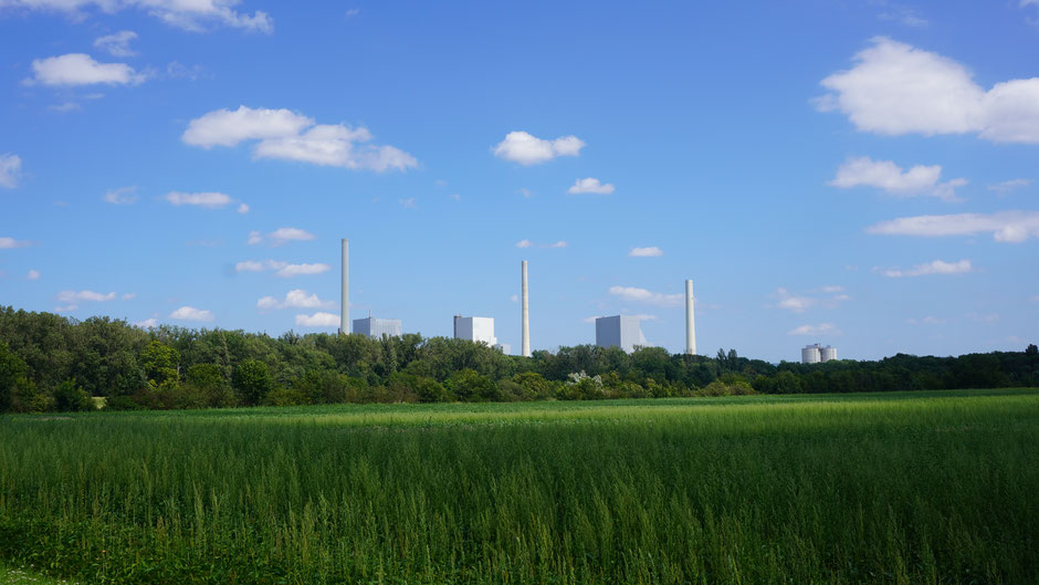 Ausstieg aus Kohle? Ab 2030 soll es dann auch hinten im Bild grün werden ...